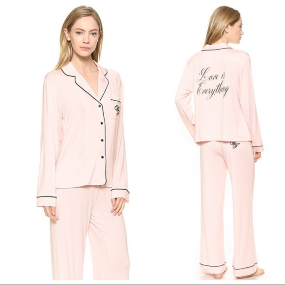 Wildfox Love Is Everything Pajama Set Size S. M 5b8769f2aa877010101663bb 3e55bc588